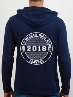 school leavers hoody back design e