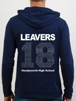 school leavers hoody back design h