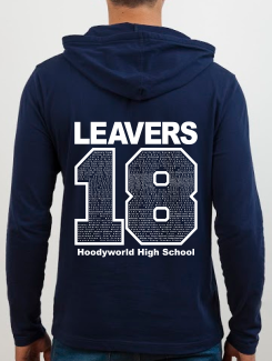 school leavers hoody back design i