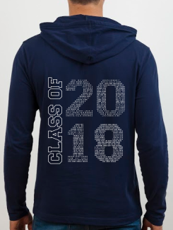 school leavers hoody back design l