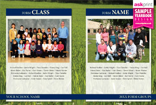 ASK Print yearbook layouts