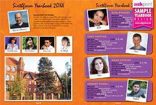 2013 yearbook layout