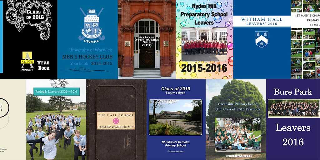 School & College Leavers Yearbook Printing