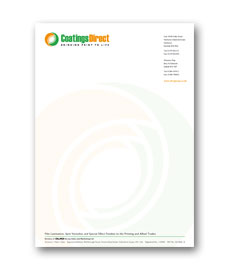 business stationery; letterhead