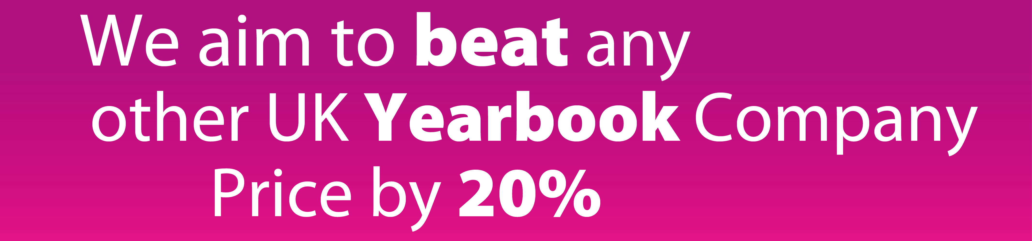 beat any yearbook price by 20%