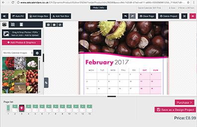 Online Calendar, Photo Book & School Yearbook Design Software